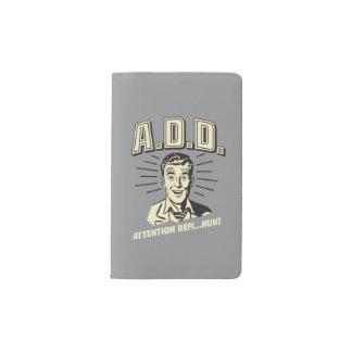 A.D.D.: 注意Defi…ハァッか。 ポケットMoleskineノートブック