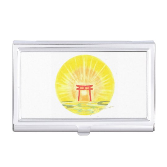 A fortune-inviting card case 開運名刺入れ 名刺入れ
