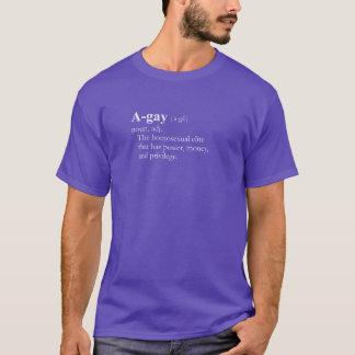 A-GAY Tシャツ