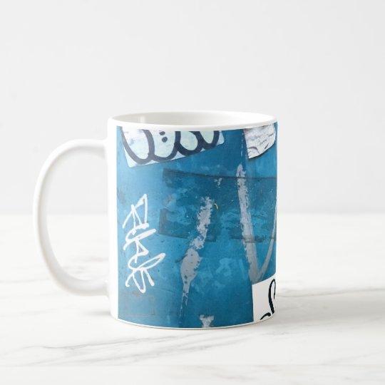 A mug designed with graffiti in Tokyo 0202 コーヒーマグカップ
