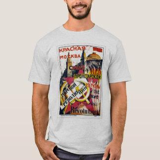 A. Rodchenko著「赤いモスクワ」 Tシャツ