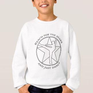 A Star.pngのようなダンス スウェットシャツ