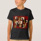 AA-素晴らしいチェスの試合は芸術を継ぎ合わせます Tシャツ