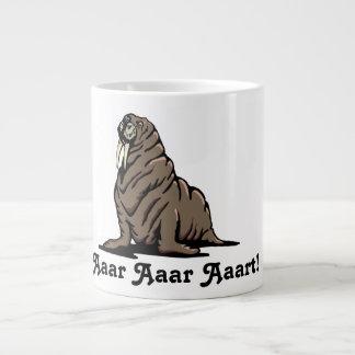 aaar Aaar Aaart!  セイウチのマグ! ジャンボコーヒーマグカップ