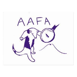 AAFA ポストカード