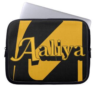 Aaliyaの電子工学の袖 ラップトップスリーブ