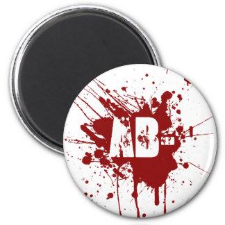 ABの否定的な血液型寄付の吸血鬼のゾンビ マグネット