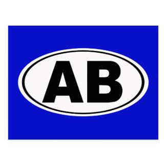 ABの大西洋のビーチフロリダ ポストカード