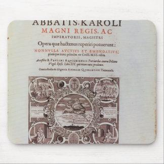 「Abbatis Karoli Magni Regis'からのとびら マウスパッド