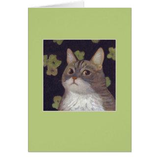 Abby猫 グリーティングカード