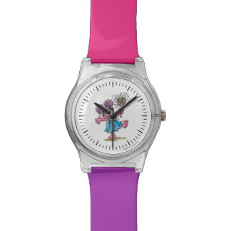 Abby Cadabbyのレトロの芸術 腕時計