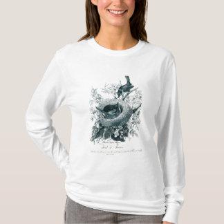 Abby's Birds Sketchの叔母さんのTシャツ Tシャツ