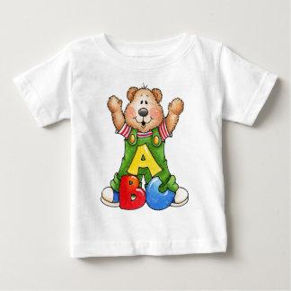 ABCのテディー・ベア ベビーTシャツ