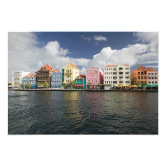 ABCの島、クラサオ島、Willemstad: Harborfront フォトプリント