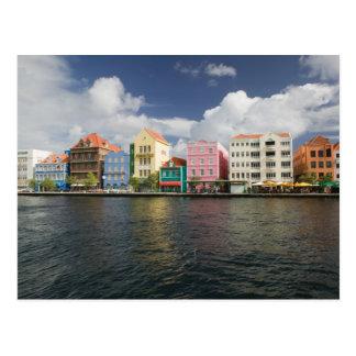 ABCの島、クラサオ島、Willemstad: Harborfront ポストカード
