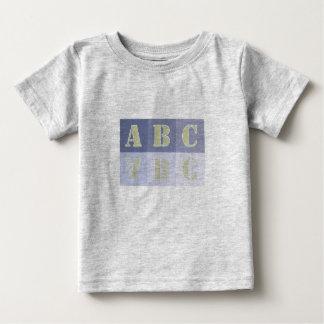 ABCの幼児のワイシャツ ベビーTシャツ