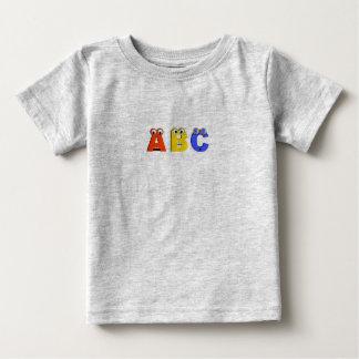 abcの幼児のTシャツ ベビーTシャツ