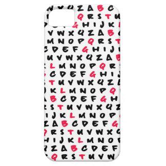 Abcの白 iPhone SE/5/5s ケース