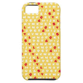 Abcの黄色 iPhone SE/5/5s ケース