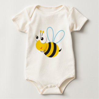 ABC動物のベティの蜂 ベビーボディスーツ