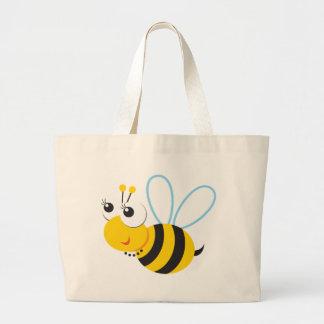 ABC動物のベティの蜂 ラージトートバッグ