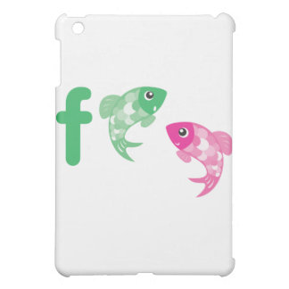 ABC動物-魚 iPad MINI カバー