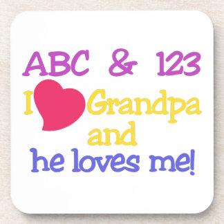 ABC及び123のIの祖父及び彼は私を愛します! コースター