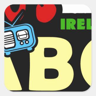 ABC 70sアイルランドのラジオ スクエアシール
