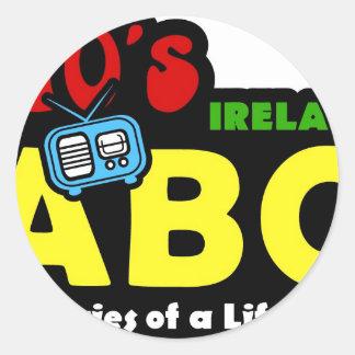 ABC 70sアイルランドのラジオ ラウンドシール