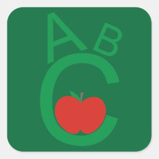 ABC Apple スクエアシール
