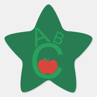 ABC Apple 星シール