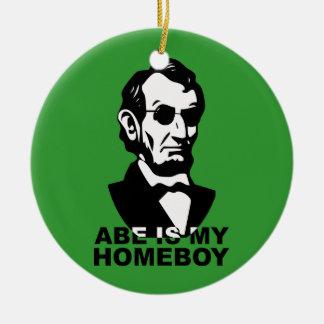Abeは私の同郷人です セラミックオーナメント