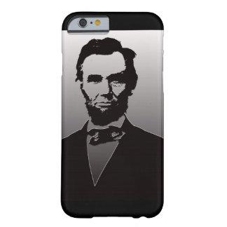 AbeリンカーンのポートレートのiPhone6ケース Barely There iPhone 6 ケース