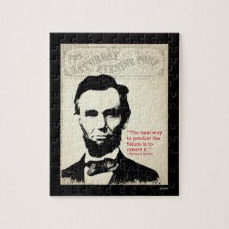 Abeリンカーンの引用文 ジグソーパズル