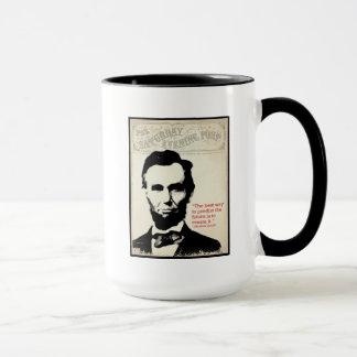 Abeリンカーンの引用文 マグカップ
