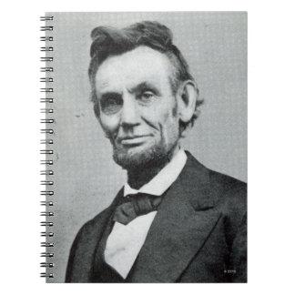 Abeリンカーン1のポートレート ノートブック
