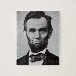 Abeリンカーン2のポートレート ジグソーパズル