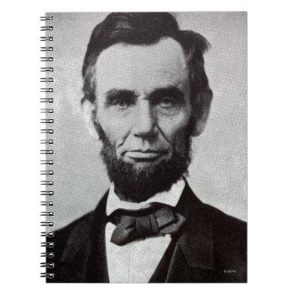 Abeリンカーン2のポートレート ノートブック