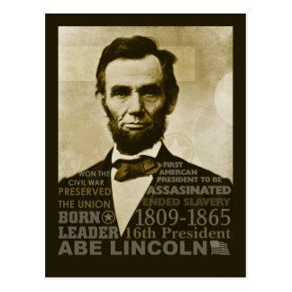 Abeリンカーン ポストカード