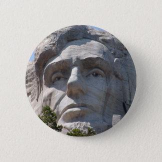 Abeリンカーン 5.7cm 丸型バッジ