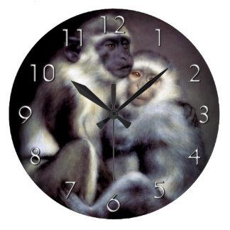 AbelardおよびHeloise ラージ壁時計