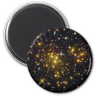 Abellの1689年の銀河系の金ゴールドの星NASA マグネット