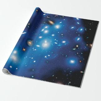Abell 2744パンドラの銀河系の集りの宇宙の写真 ラッピングペーパー