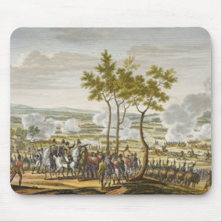 Abensbergの戦い、1809年4月20日、刻まれたb マウスパッド