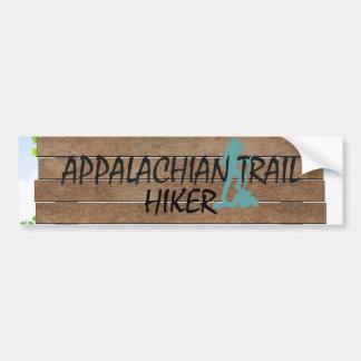 ABHのアパラチア山脈の道のハイカー バンパーステッカー