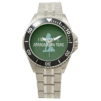 ABHのアパラチア山脈の道のハイカー 腕時計