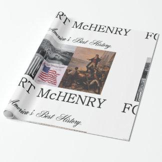 ABHの城砦McHenry ラッピングペーパー