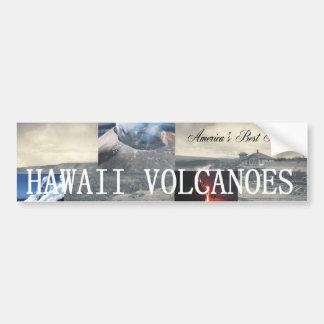 ABHハワイの火山 バンパーステッカー