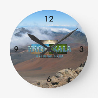 ABH Haleakala ラウンド壁時計