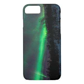 AbiskoスウェーデンのiPhone 7の場合上のNorthern Lights iPhone 8/7ケース